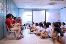 Sharing Session With National Players
